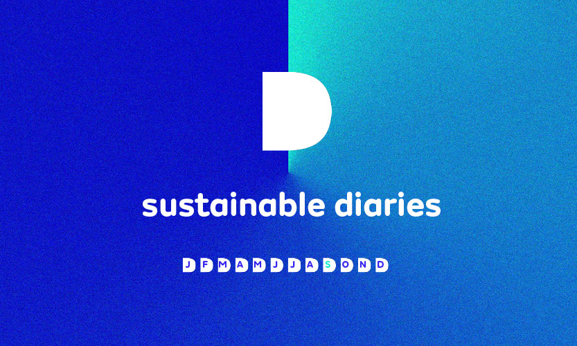 Sustainability Diaries – new starts and new habits for September